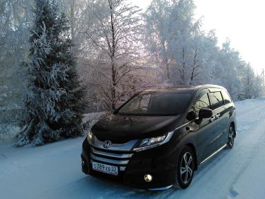 Honda Odyssey 2013 отзыв автора | Дата публикации 16.07.2020.