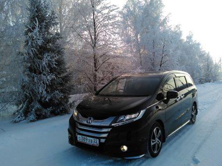 Honda Odyssey 2013 - отзыв владельца