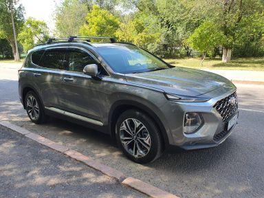 Hyundai Santa Fe 2019 отзыв автора | Дата публикации 22.07.2020.