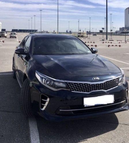 Kia Optima 2016 - отзыв владельца