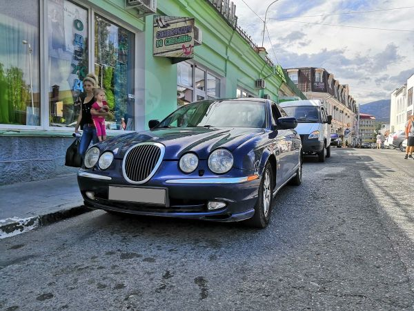 Jaguar S-type, 2001 год, 250 000 руб.