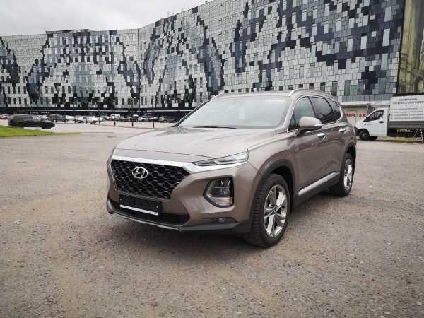 Hyundai Santa Fe, 2019 год, 2 864 000 руб.