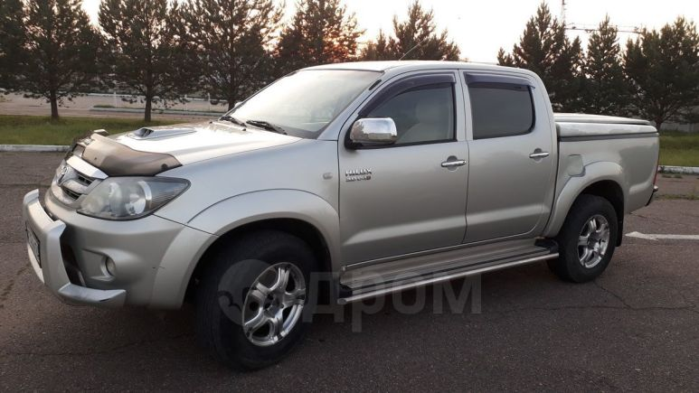Toyota Hilux Pick Up, 2007 год, 900 000 руб.