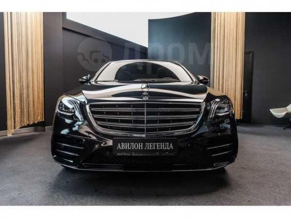 Mercedes-Benz S-Class, 2019 год, 9 932 660 руб.