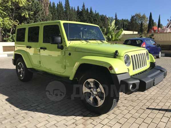 Jeep Wrangler, 2016 год, 3 730 000 руб.