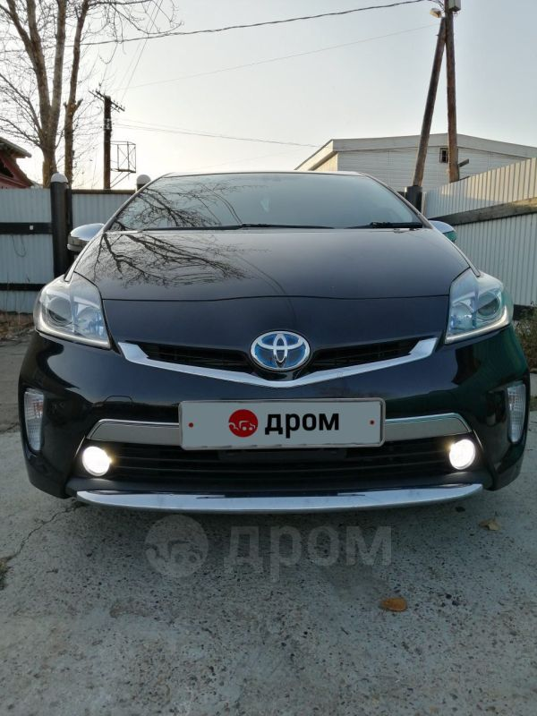Toyota Prius PHV, 2013 год, 910 000 руб.