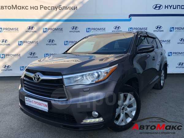 Toyota Highlander, 2014 год, 1 875 000 руб.