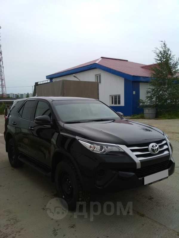 Toyota Fortuner, 2019 год, 2 070 000 руб.