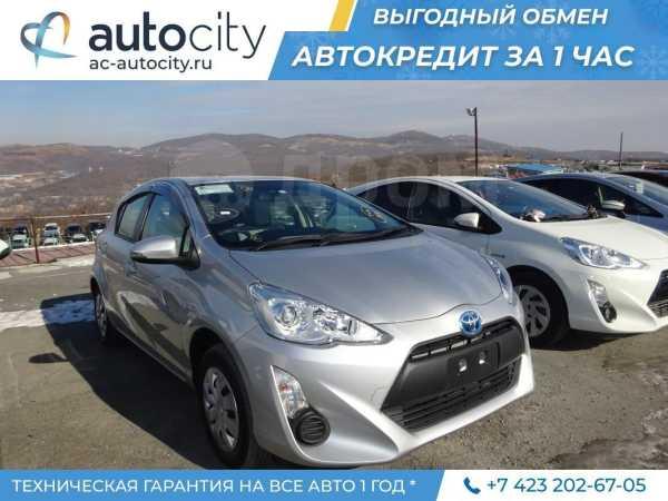 Toyota Aqua, 2015 год, 585 000 руб.