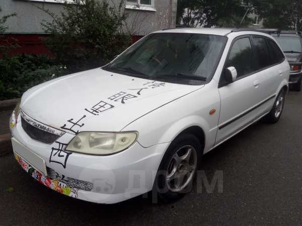 Mazda Familia S-Wagon, 2001 год, 129 000 руб.