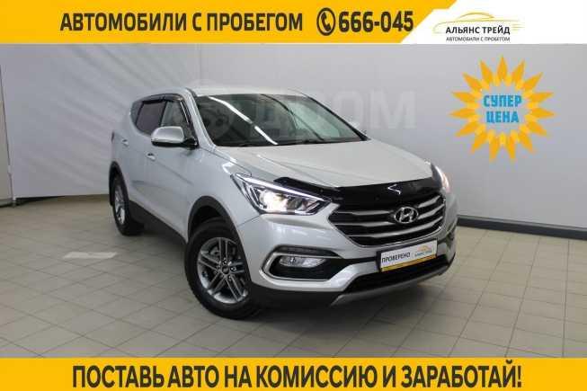 Hyundai Santa Fe, 2018 год, 1 655 000 руб.