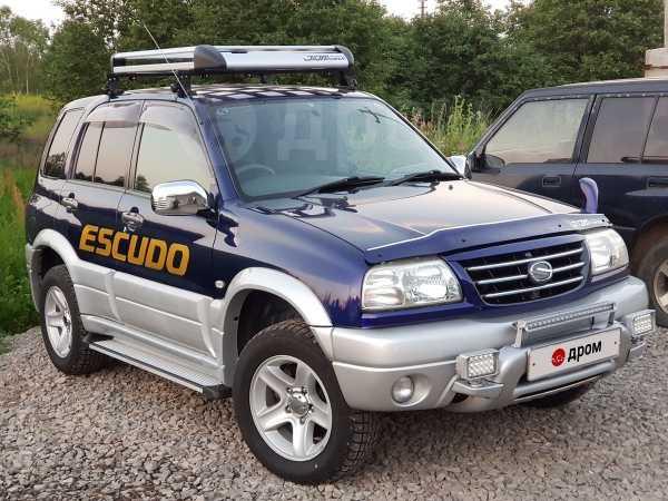 Suzuki Escudo, 2002 год, 670 000 руб.
