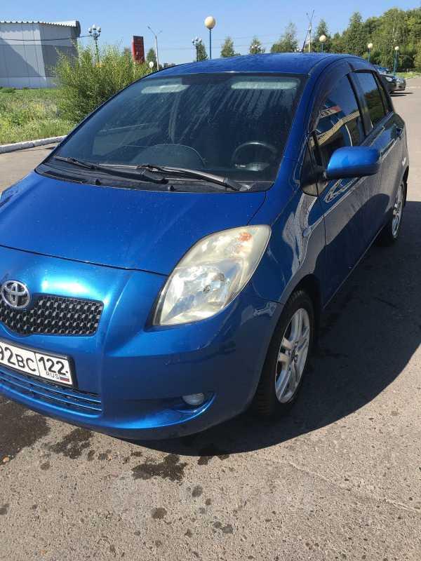 Toyota Yaris, 2007 год, 395 000 руб.