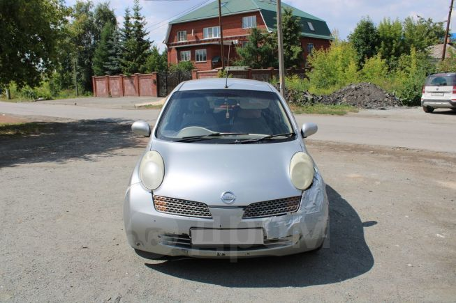 Nissan March, 2002 год, 110 000 руб.