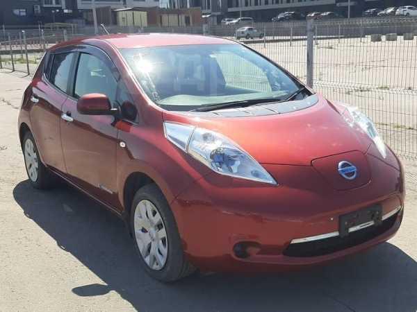 Nissan Leaf, 2014 год, 547 000 руб.