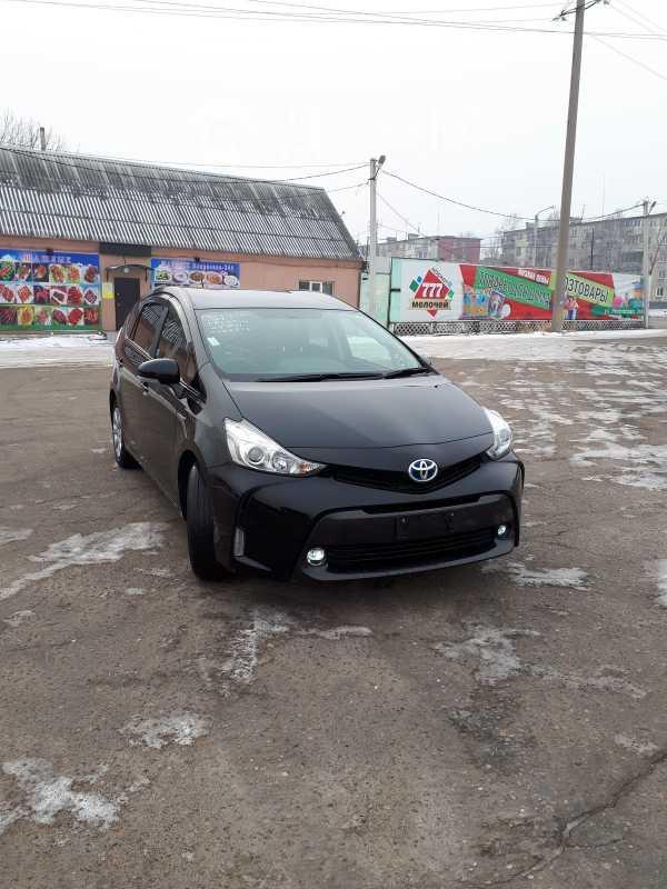Toyota Prius a, 2016 год, 949 000 руб.