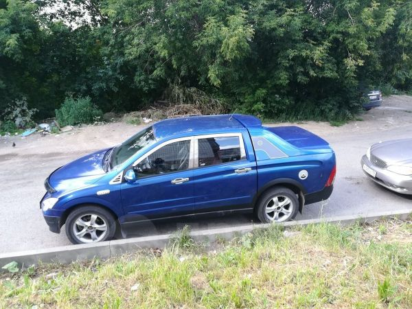 SsangYong Actyon Sports, 2006 год, 370 000 руб.