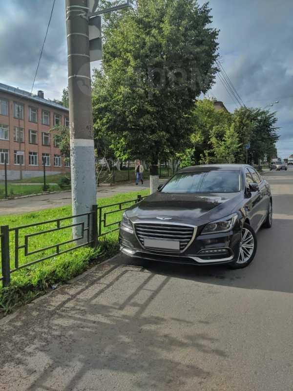 Genesis G80, 2017 год, 1 700 000 руб.