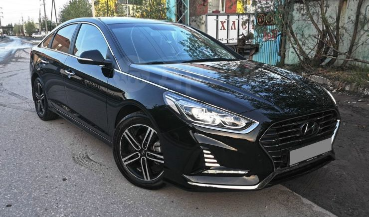 Hyundai Sonata, 2018 год, 1 235 000 руб.