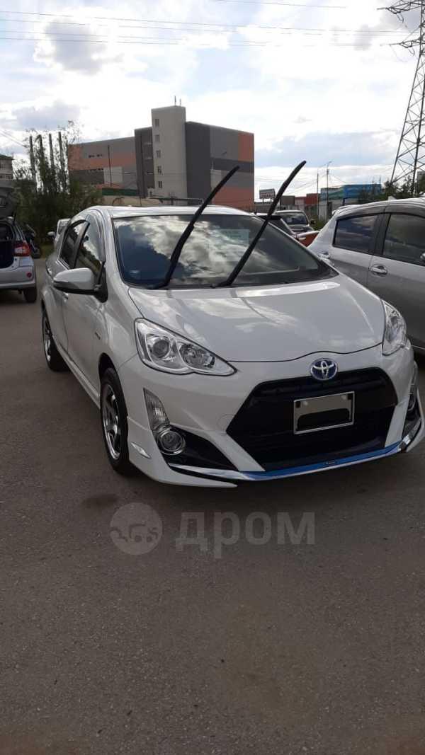 Toyota Aqua, 2016 год, 785 000 руб.
