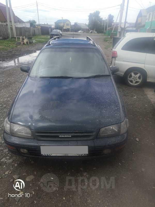 Toyota Caldina, 1992 год, 160 000 руб.