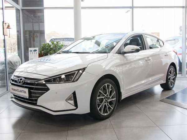 Hyundai Elantra, 2020 год, 1 261 250 руб.
