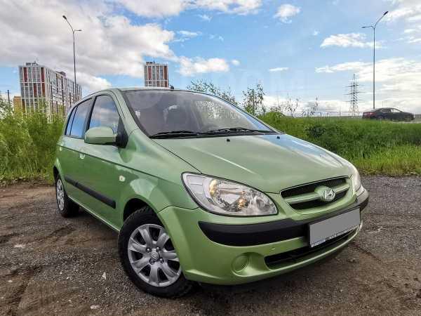 Hyundai Getz, 2007 год, 337 000 руб.