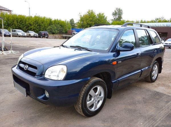 Hyundai Santa Fe Classic, 2008 год, 410 000 руб.