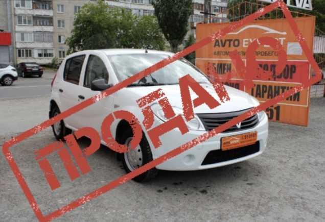 Renault Sandero, 2013 год, 344 998 руб.