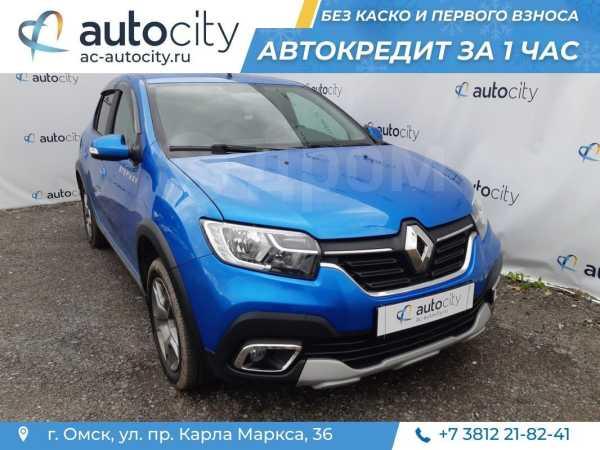 Renault Logan Stepway, 2018 год, 735 000 руб.