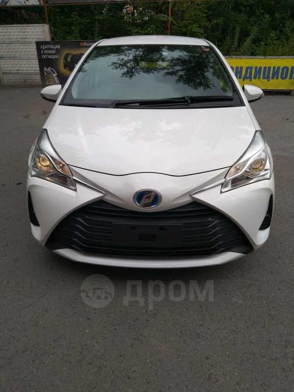 Toyota Vitz, 2017 год, 740 000 руб.