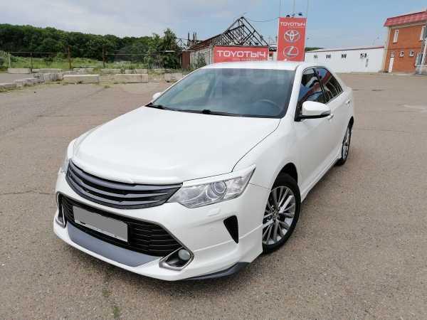 Toyota Camry, 2017 год, 1 440 000 руб.