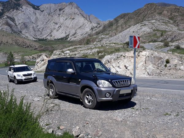 Hyundai Terracan, 2001 год, 420 000 руб.