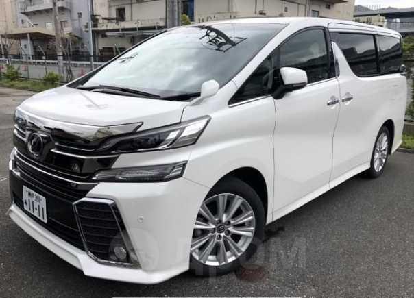 Toyota Vellfire, 2017 год, 1 350 000 руб.