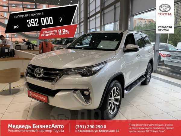 Toyota Fortuner, 2018 год, 2 802 937 руб.