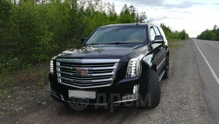 Cadillac Escalade, 2015 год, 3 500 000 руб.