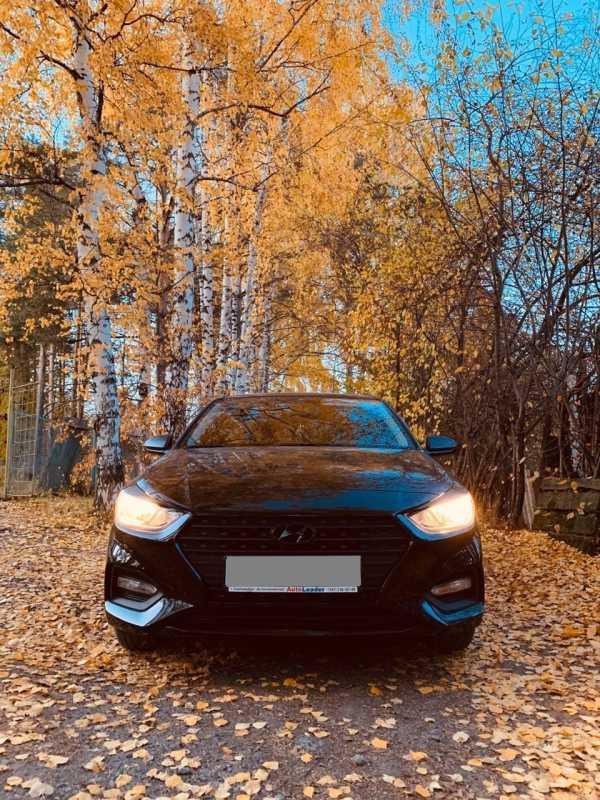 Hyundai Solaris, 2018 год, 660 000 руб.