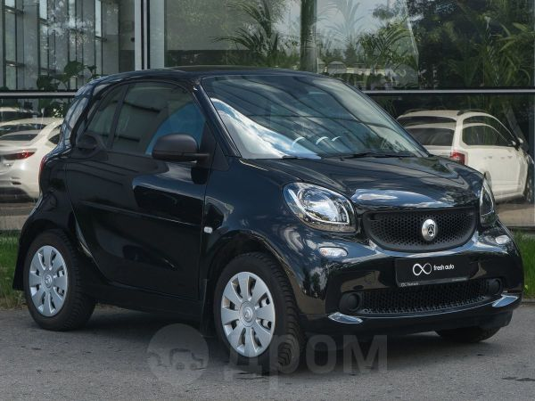 Smart Fortwo, 2018 год, 970 000 руб.