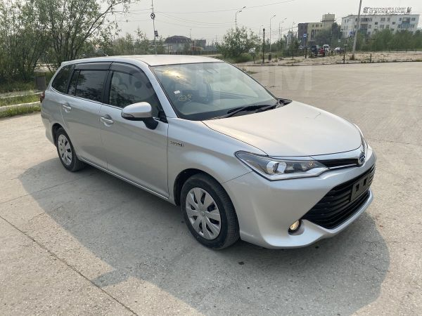 Toyota Corolla Fielder, 2015 год, 820 000 руб.