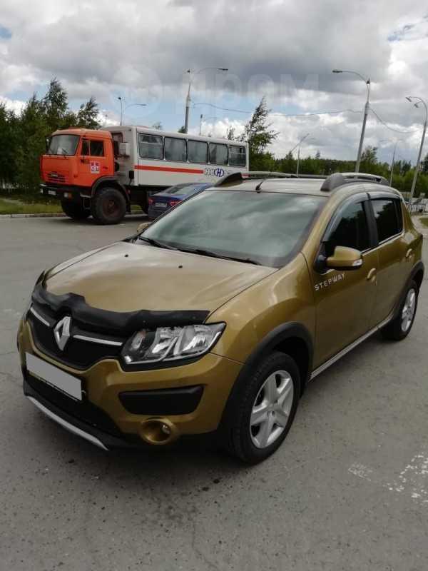 Renault Sandero, 2015 год, 550 000 руб.