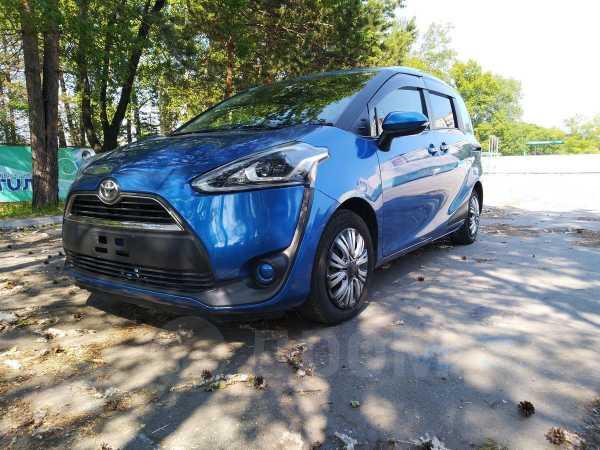 Toyota Sienta, 2016 год, 735 000 руб.
