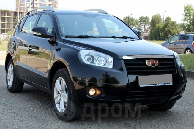 Geely Emgrand X7, 2014 год, 535 000 руб.