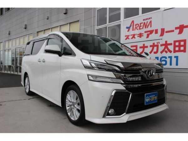 Toyota Vellfire, 2017 год, 2 299 000 руб.