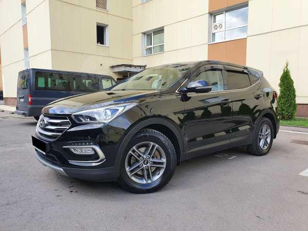 Hyundai Santa Fe, 2018 год, 1 679 000 руб.