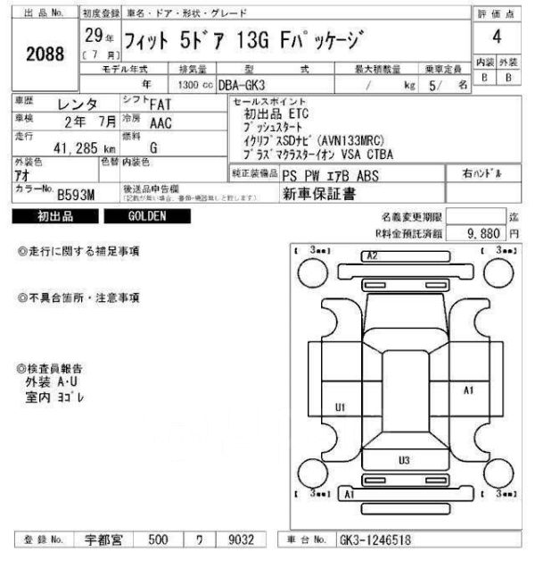 Honda Fit, 2017 год, 663 000 руб.