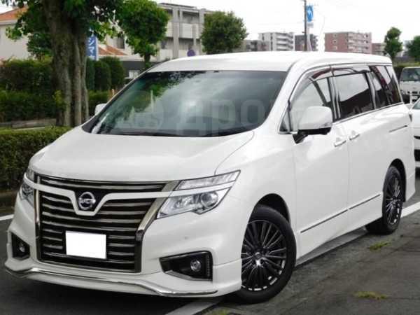 Nissan Elgrand, 2015 год, 1 515 000 руб.