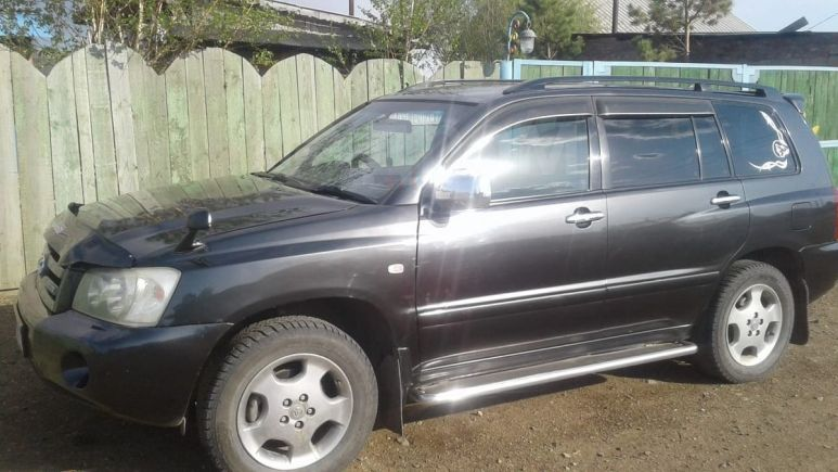Toyota Kluger V, 2002 год, 590 000 руб.