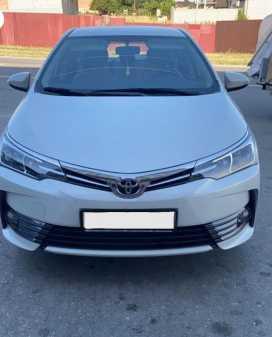 Грозный Corolla 2018