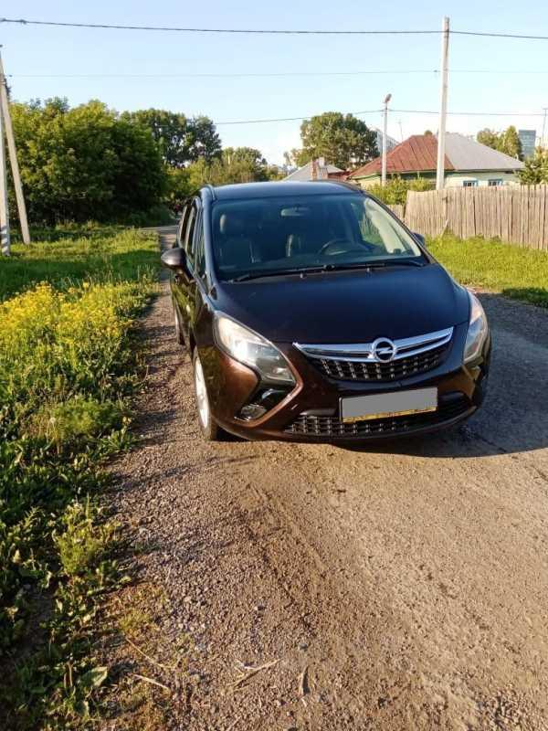 Opel Zafira, 2012 год, 720 000 руб.