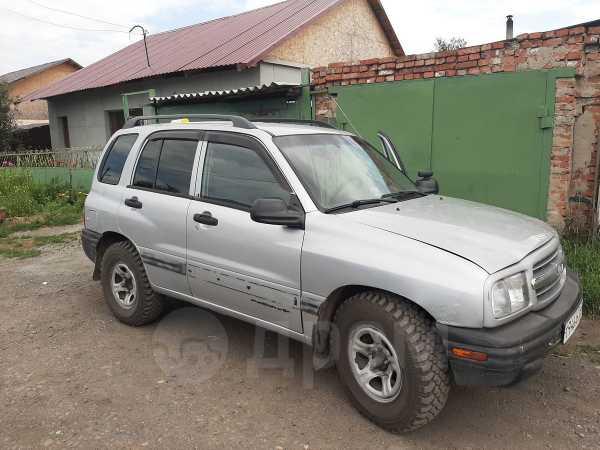 Chevrolet Tracker, 2000 год, 220 000 руб.